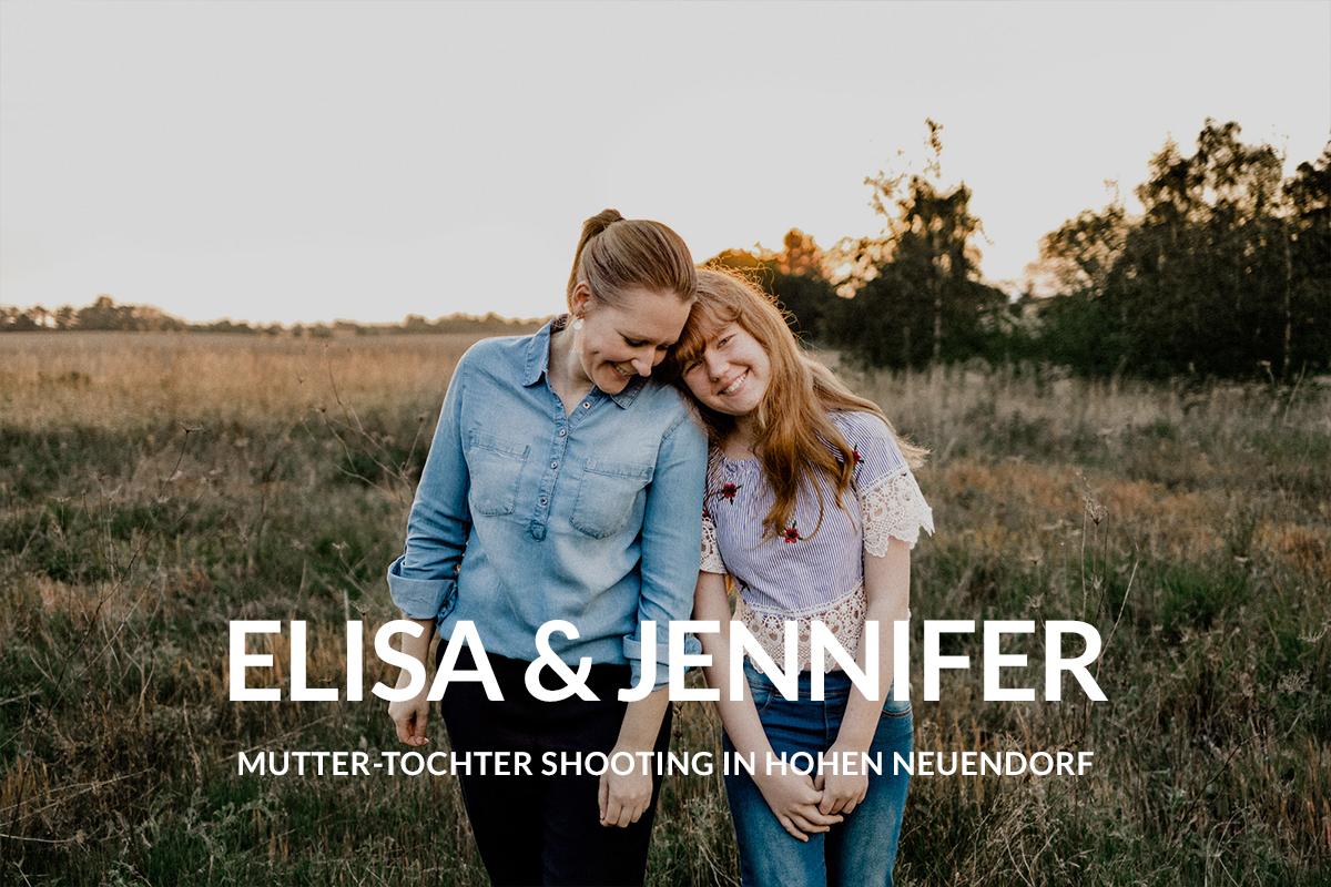 Virginia Pech Fotografie Familienshooting Mutter Tochter Hohen Neuendorf Berlin Feld Jennifer Elisa 01